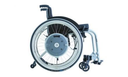 e-motion M15 Power Assist Drive Combines Active Mobility with Therapeutic Benefit