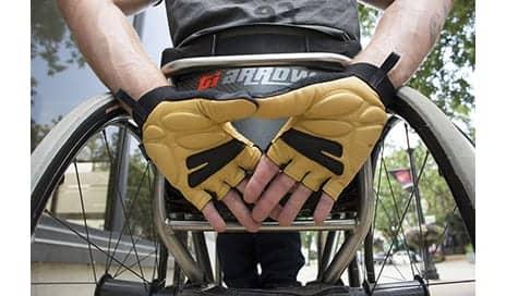 Chiba Wheelchair Gloves Help Enable More Comfortable Wheelchair Pushing