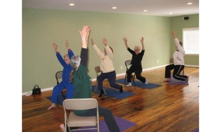 Study Touts Chair Yoga's Benefits for People with Osteoarthritis