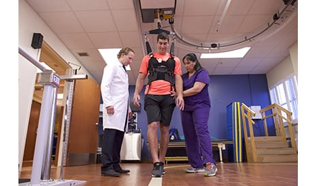 Promotion of Gait Through Technology