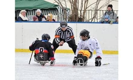 Helen Hayes Hospital Offers Sled Hockey Program