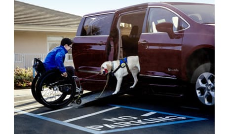 Chrysler Unveils Wheelchair-Accessible 2017 BraunAbility Chrysler Pacifica