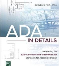 Book Explains ADA Interpretations of Accessible Design