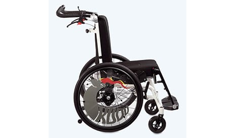 Kudu by R82 Reclining Pediatric Wheelchair is Designed for Growing Children