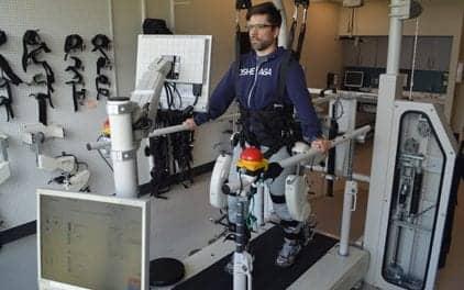 Rehabilitation Robots Test Stride Response in Spaulding-Harvard Study
