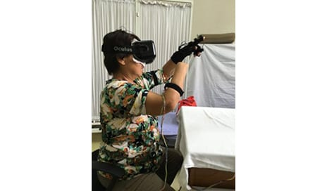 Phantom Limb Pain Eased Via Virtual Reality Mind-Control Trick