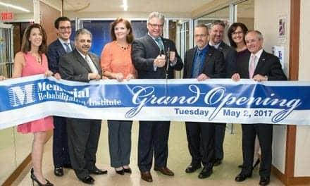 Rehab Center at Memorial Rehabilitation Institute Celebrates Grand Opening