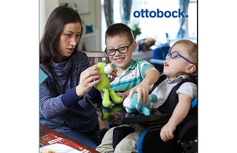 Ottobock Debuts Kimba Seat and Neo MPS Seat for Kids