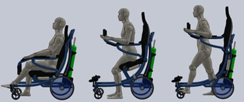 Active Body Inc Receives Patent for Hybrid Wheelchair
