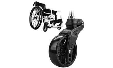 Frog Legs' Second Generation Caster Wheels Built to Provide a Smoother Ride