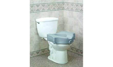 "Drive DeVilbiss Introduces Bariatric 5"" Locking Raised Toilet Seat"
