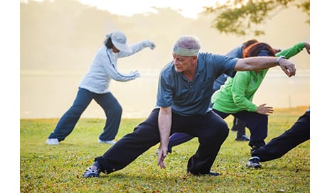 Fall Risk Reduces as Much as 50% With Tai Chi Practice, Study Reports