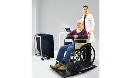 Portable Wheelchair Scale Enters the Market
