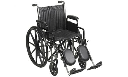 Drive DeVilbiss Healthcare Adds Heavy-Duty Wheelchair to Silver Sport Line