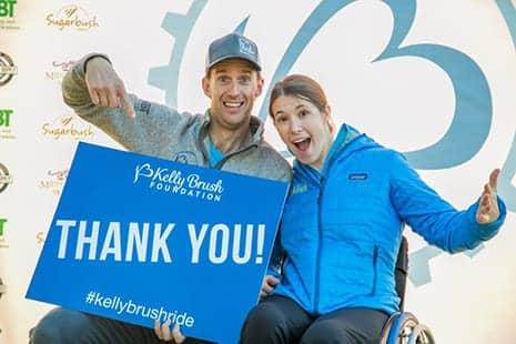 Kelly Brush Ride Raises More Than $521K to Fund Adaptive Sports