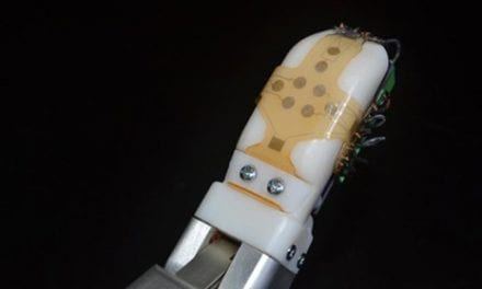 "Flexible Sensor ""Skin"" Able to Sense Shear Force Developed in Lab"