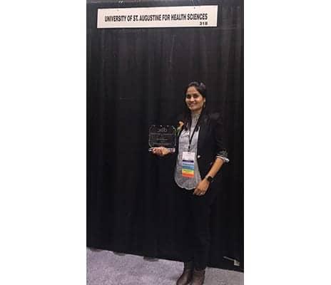 University of St Augustine Student Receives OTAC Award