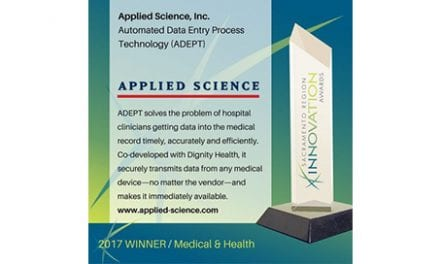 ADEPT Solution Chosen as Innovation Award Winner