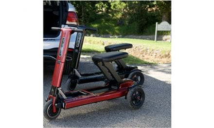 RELYNC Folding Mobility Scooter Receives 2018 CES Innovation Award
