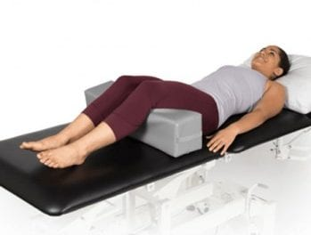 OPTP Positioning Cube Provides Support for Manual or Physical Therapy