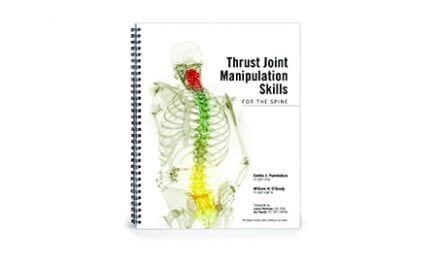 OPTP Exclusive Book Explains Thrust Joint Manipulation Techniques