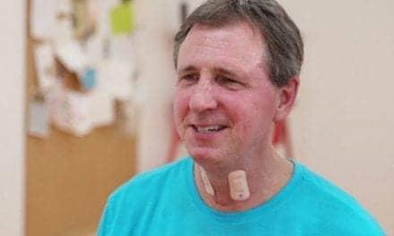 Throat Sensor Designed to Provide Stroke Rehab Data Developed in Lab