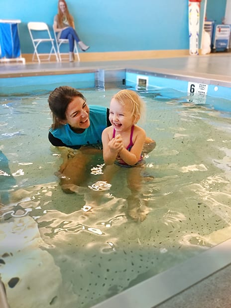 Improving Lives with Aquatic Therapy