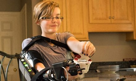 Myoelectric Arm Orthosis Designed for Adolescents