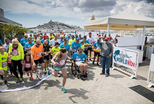 Global Wings for Life World Run Raises Money for Spinal Cord Research