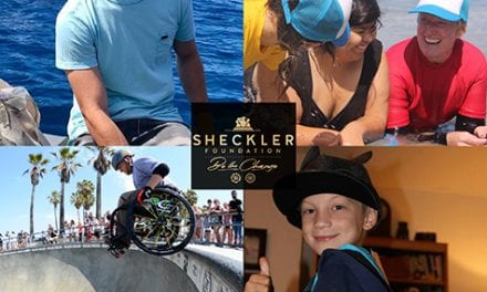 """Wheelchair Athletes Among Sheckler Foundation """"Be the Change"""" Finalists"""