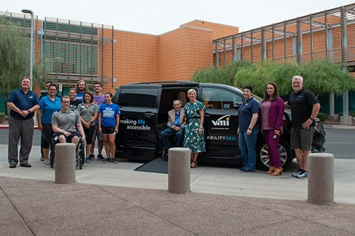 VMI Donates Wheelchair-Accessible Van to Ability360
