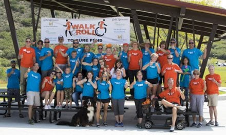 Walk & Roll as Part of FSH Society Nationwide Event