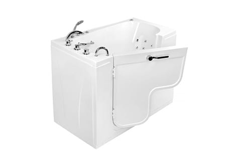 Ella's Bubbles Tubs Feature L-Shaped Door for Easy Wheelchair Transfer
