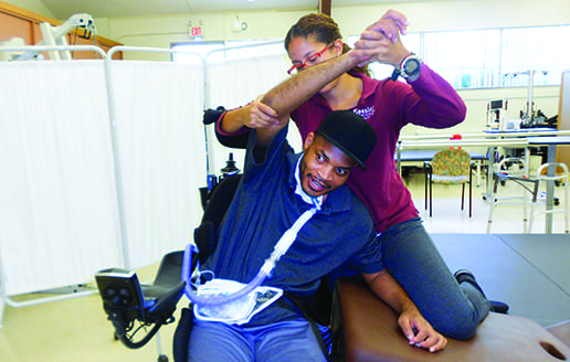 Spinal Cord-Injured and Medically Complex: Interdisciplinary Care Helps Patients Live Life at Home