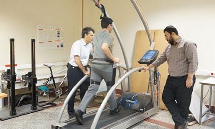 Metabolic Rate-Reducing Exoskeleton Developed in Lab