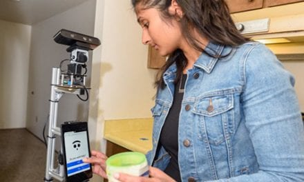 Elder Care Robot Tested in Smart Home