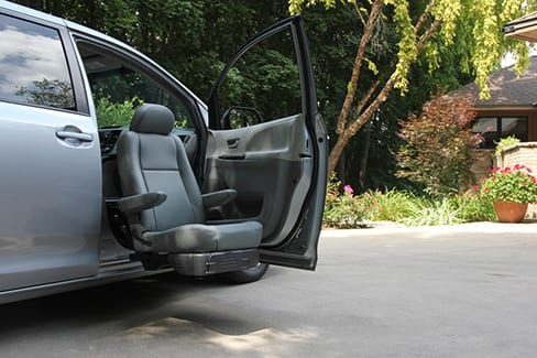 BraunAbility's New Turny Evo Offers Safe and Easy Seating