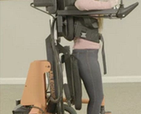 AbleChair Multipurpose Power Wheelchair Includes Gait Therapy