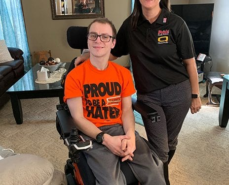 Quantum Rehab Donates iLevel Power Chair to Walmart Employee