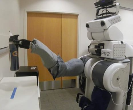 Interface System Offers 'Robot's Eye View' to Aid Personal Care Tasks