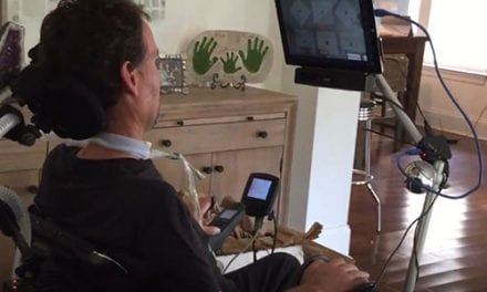 Independence Drive Enables Power Wheelchair Control Using Only Eyes