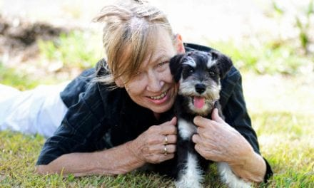 Pets May Help Older Adults Manage Chronic Pain