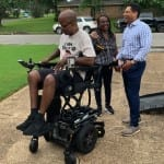 'Back it Up Terry' Receives a New Power Chair from Quantum Rehab