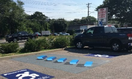 3D Accessible Parking Aisles Put in Place to Combat Illegal Parking