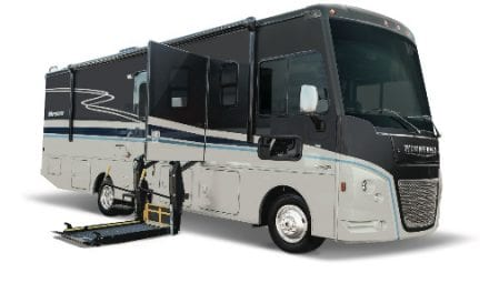 Wheelchair-Ready Motorhomes Make 2020 Debut