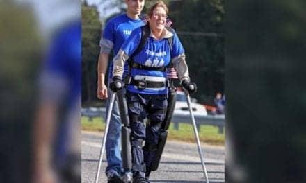 Paralyzed Veteran Completes NYC Marathon Wearing a ReWalk Exoskeleton