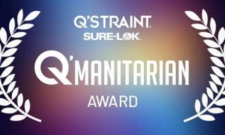 Q'STRAINT/Sure-Lok Announces Inaugural Q'MANITARIAN Award Recipient