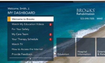 Brooks Rehabilitation Now Offers SONIFI Health Interactive Technology