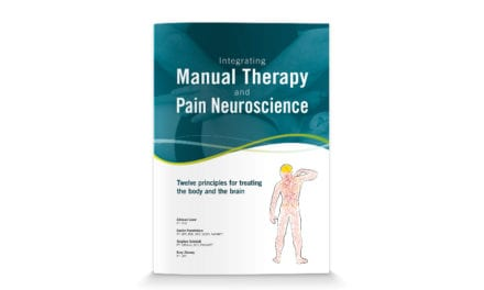 New Manual Therapy and Pain Science Book by Adriaan Louw Available from OPTP
