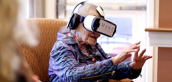 MyndVR Launches MyndVR at Home to Aid Seniors Aging in Place